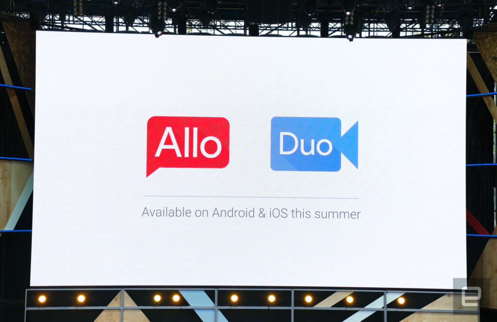 Allo and Duo chatting app