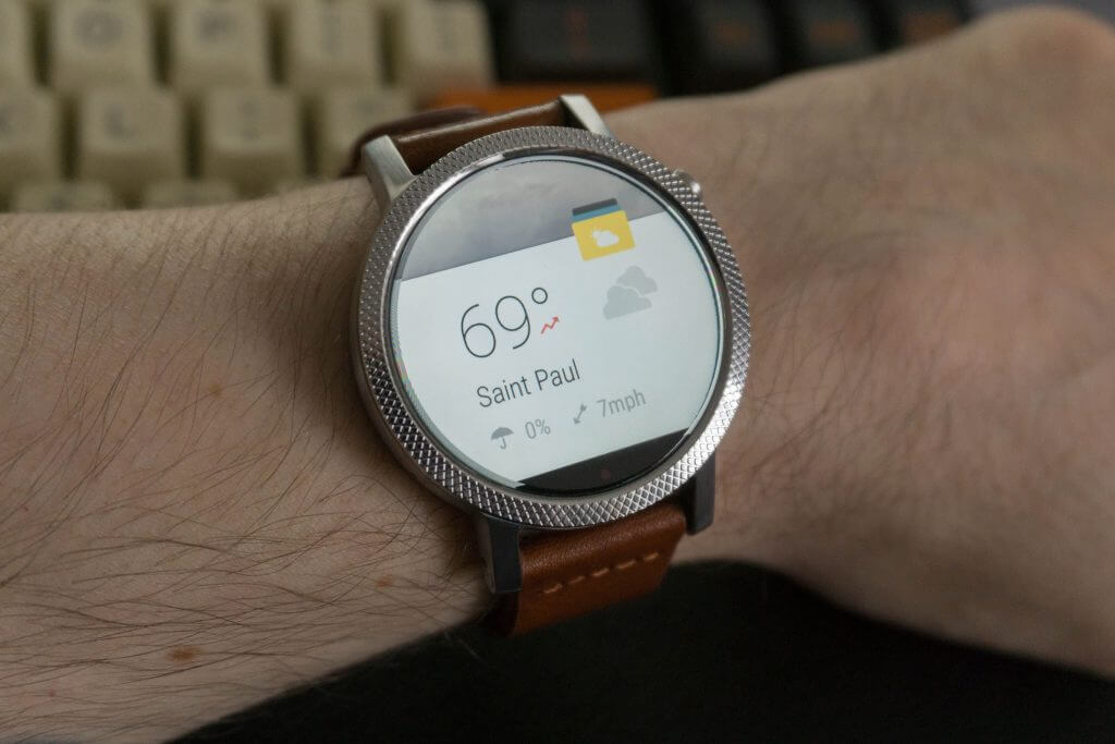 Weather Timeline for Android Wear