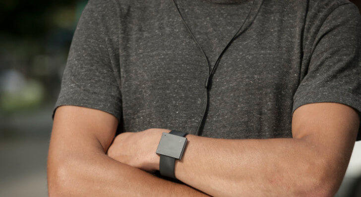 Wrist-Mounted Subwoofer