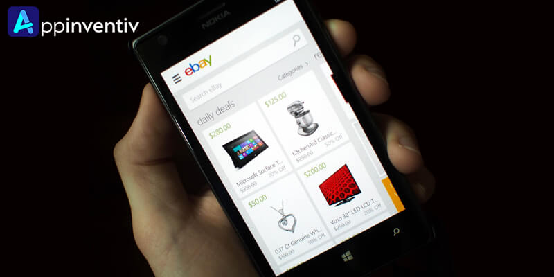 eBay added 'Search by Image' option to its Mobile App!