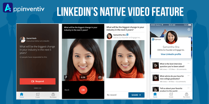LinkedIn Video Sharing