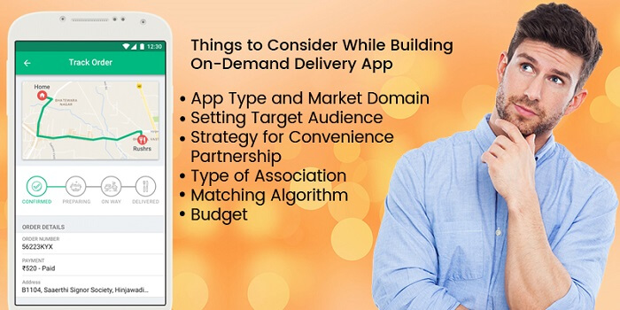 Things to Consider While Building On-Demand Delivery App