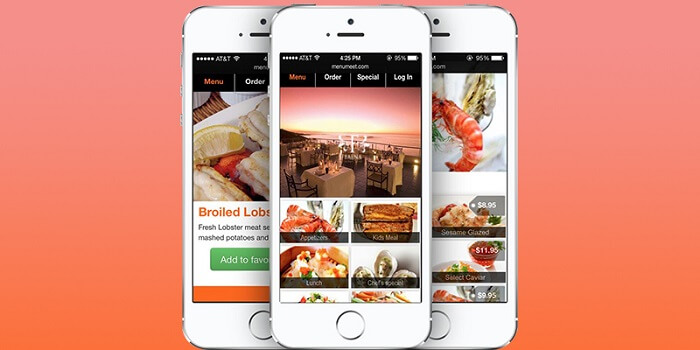 reputed restaurant mobile app development company