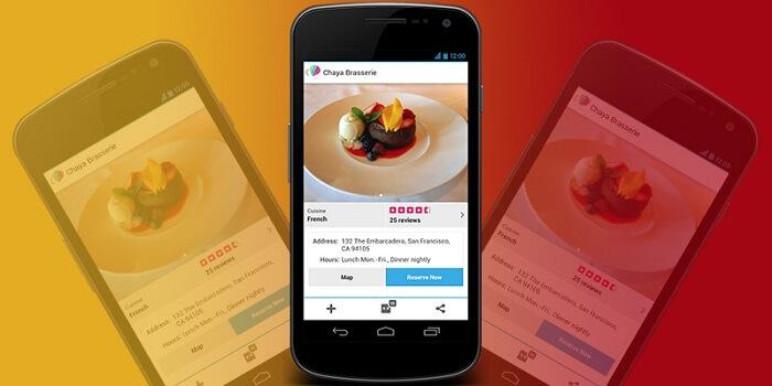 restaurant app builder team