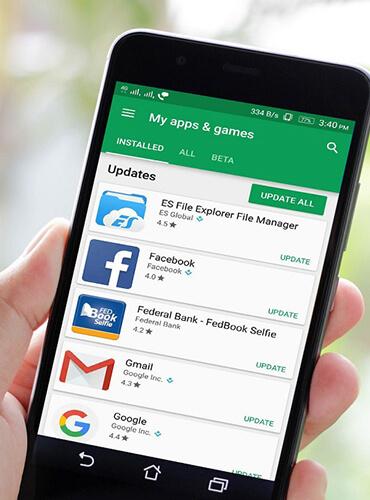 mobile app-banner
