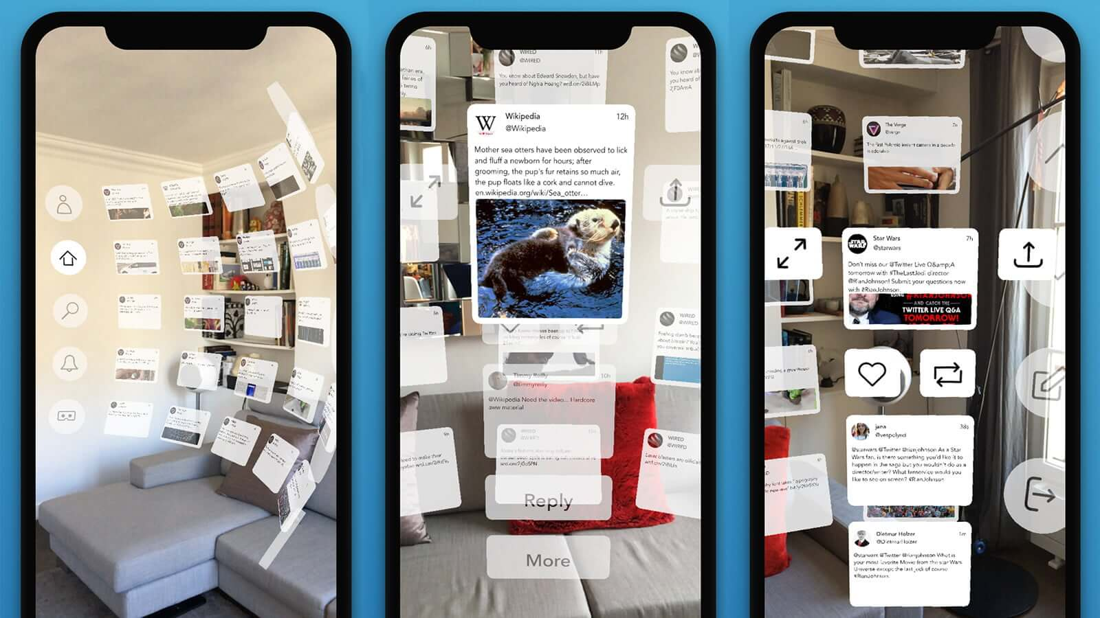 Tweetreality App Bringing Twitter To Augmented Reality