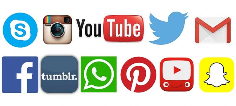 Social media logo-app-icon