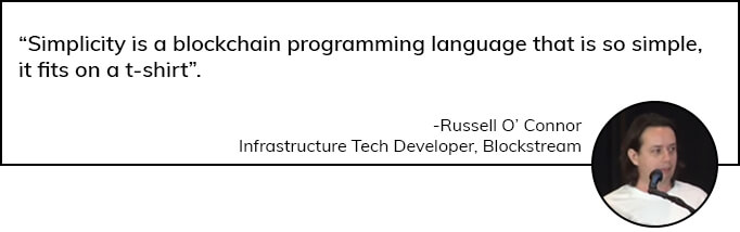 Blockchain Programming Language by Russell O' Connor