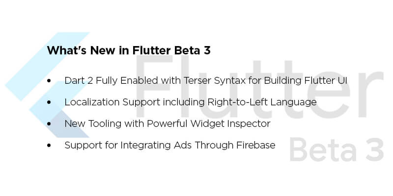 Flutter Beta 3.0 Launched in IO 2018