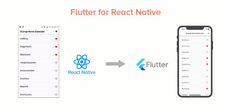 Flutter for React Native