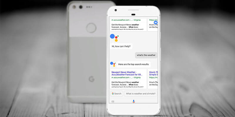 Get Weather Forecast by New Google Assistant