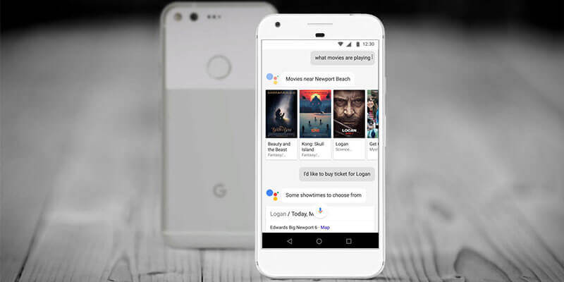 New Google Assistant Book Tickets for Movie