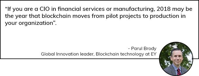 Paul Brody speaks on Blockchain App Technology