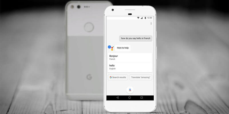 Through New Google Assistant Practice a New Language