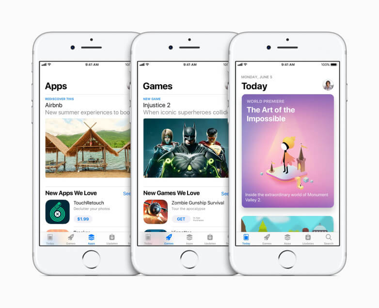 App Store Gets a Redesign