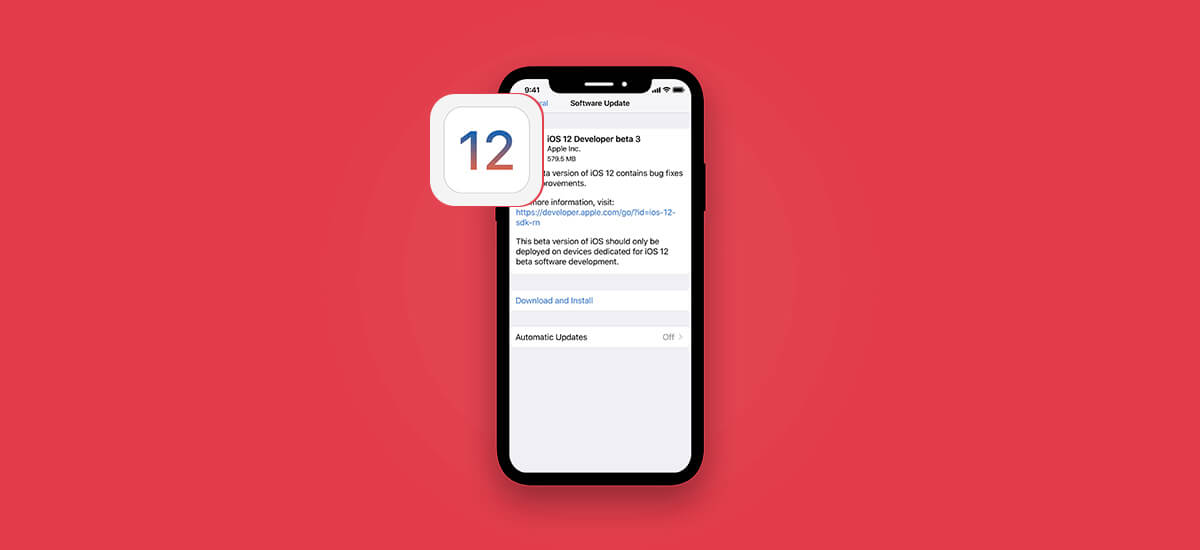 Apple Releases Third iOS 12 Public Beta 3