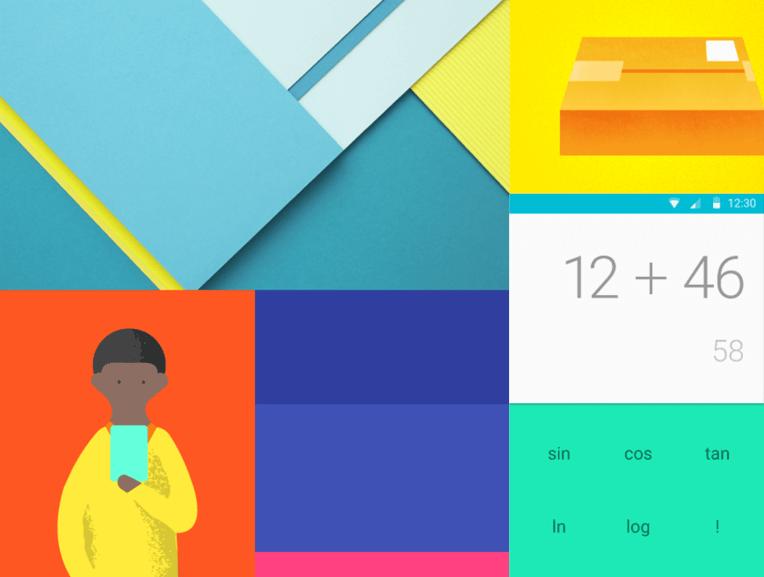 Bold Colours Material Design
