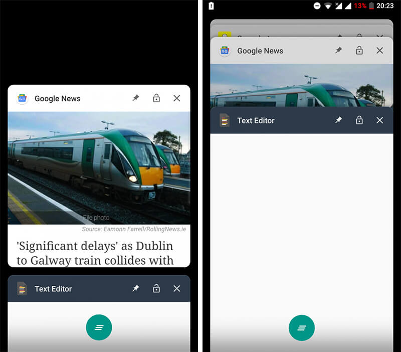Differences in Android Go vs Regular Android for News