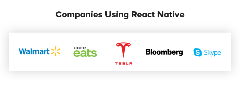 Companies Using React Native for App Development