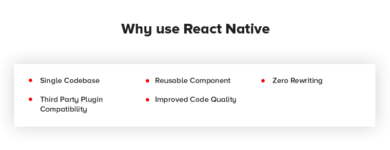 Why use React Native Mobile App Development