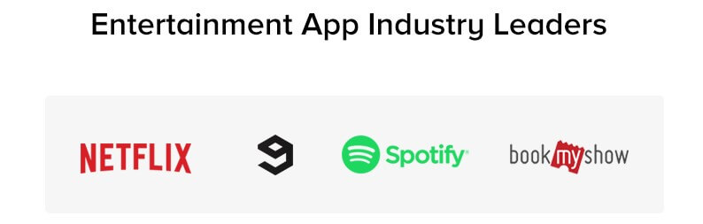 Entertainment App Industry Leaders