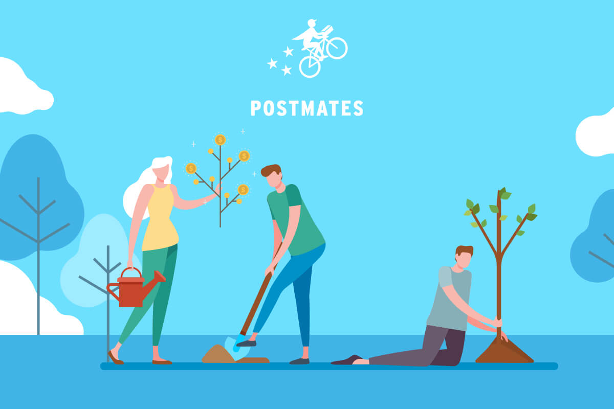 Postmates strategic Business model and Revenue sources
