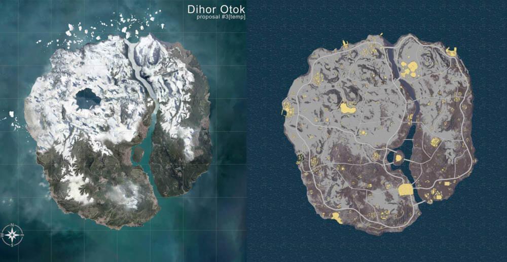 A new snow map in pubg season 4