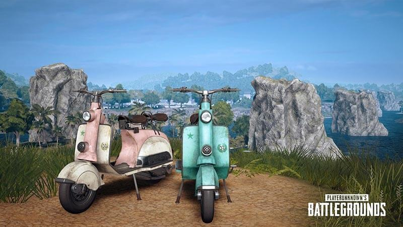 New weapons, scooters and rain breeze