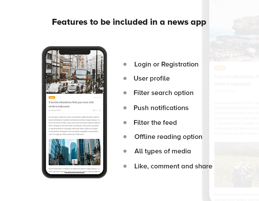What Features Should Be Included in News App Development