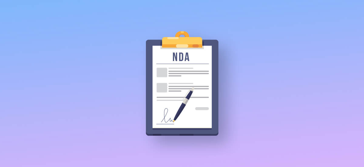 Why is NDA important in Mobile app dev process