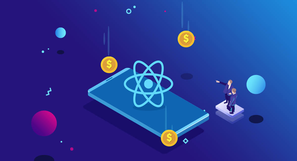 App development with react native can reduce cost