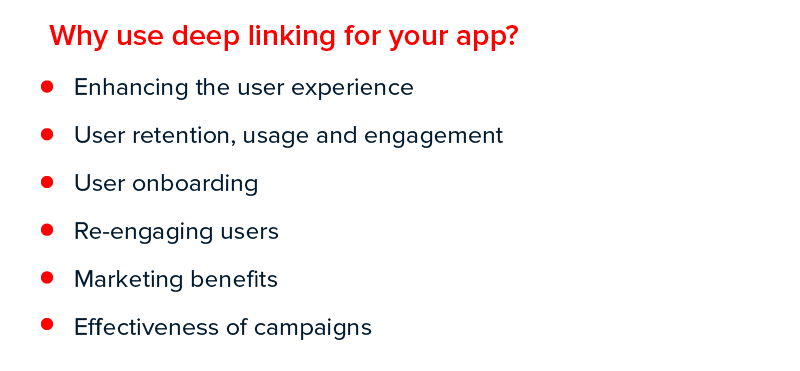 Why use deep linking for your app
