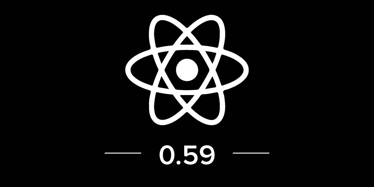 React Native 0.59 is Released with CLI Improvements, React Hooks and More