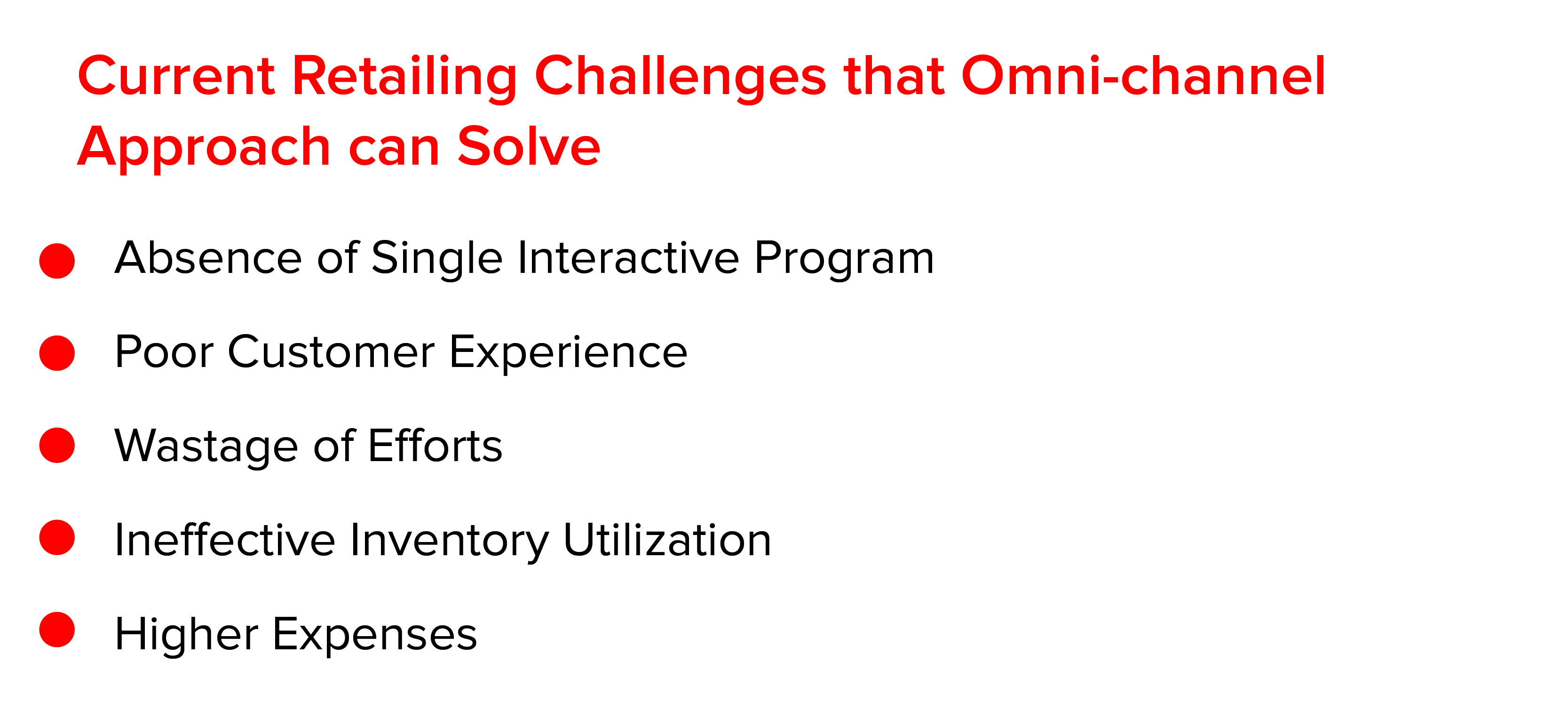 Current Retailing Challenges that Omni-channel Approach can Solve