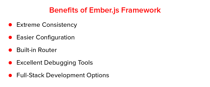 Benefits of Ember.js Framework