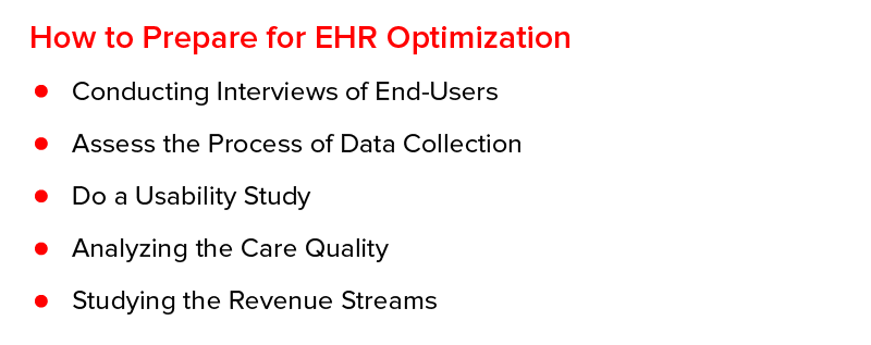 How to Prepare for EHR Optimization