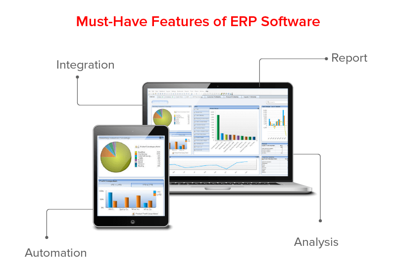 Must have Features of ERP Softwares