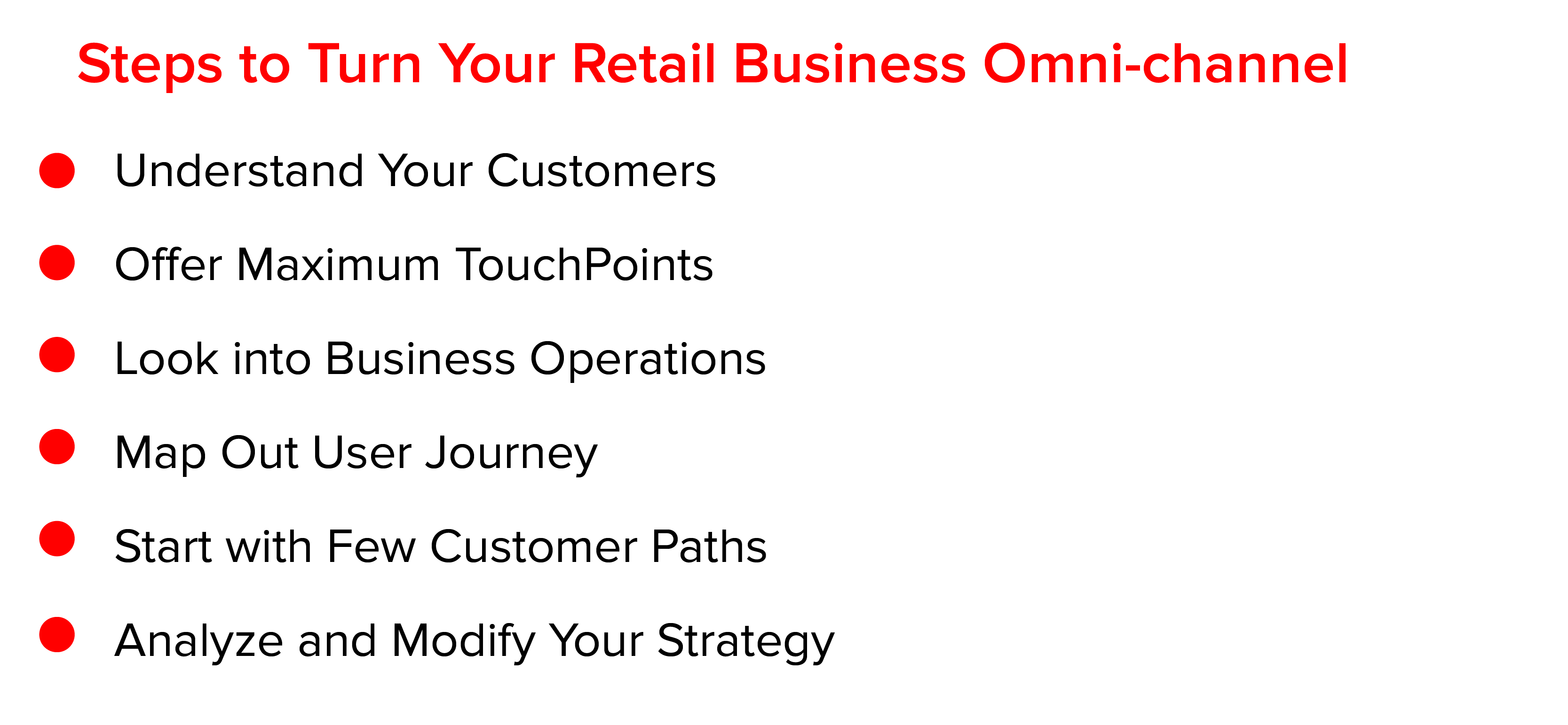 Steps to Turn Your Retail Business Omni-Channel