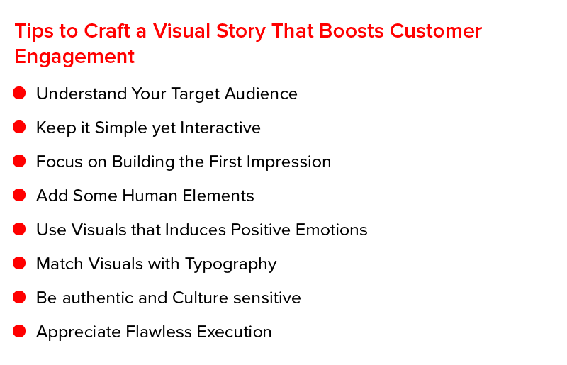 Tips to Craft a Visual Story That Boosts Customer Engagement