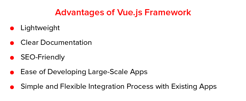 Advantages of Vue.js Framework