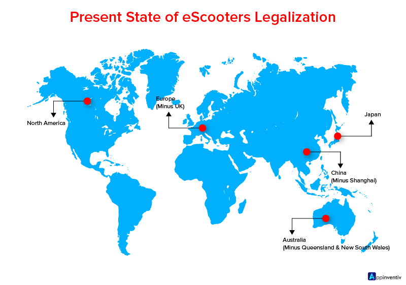 Present State of eScooters Legalization