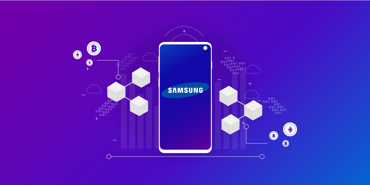Samsung Integrates Blockchain into Their Business Model