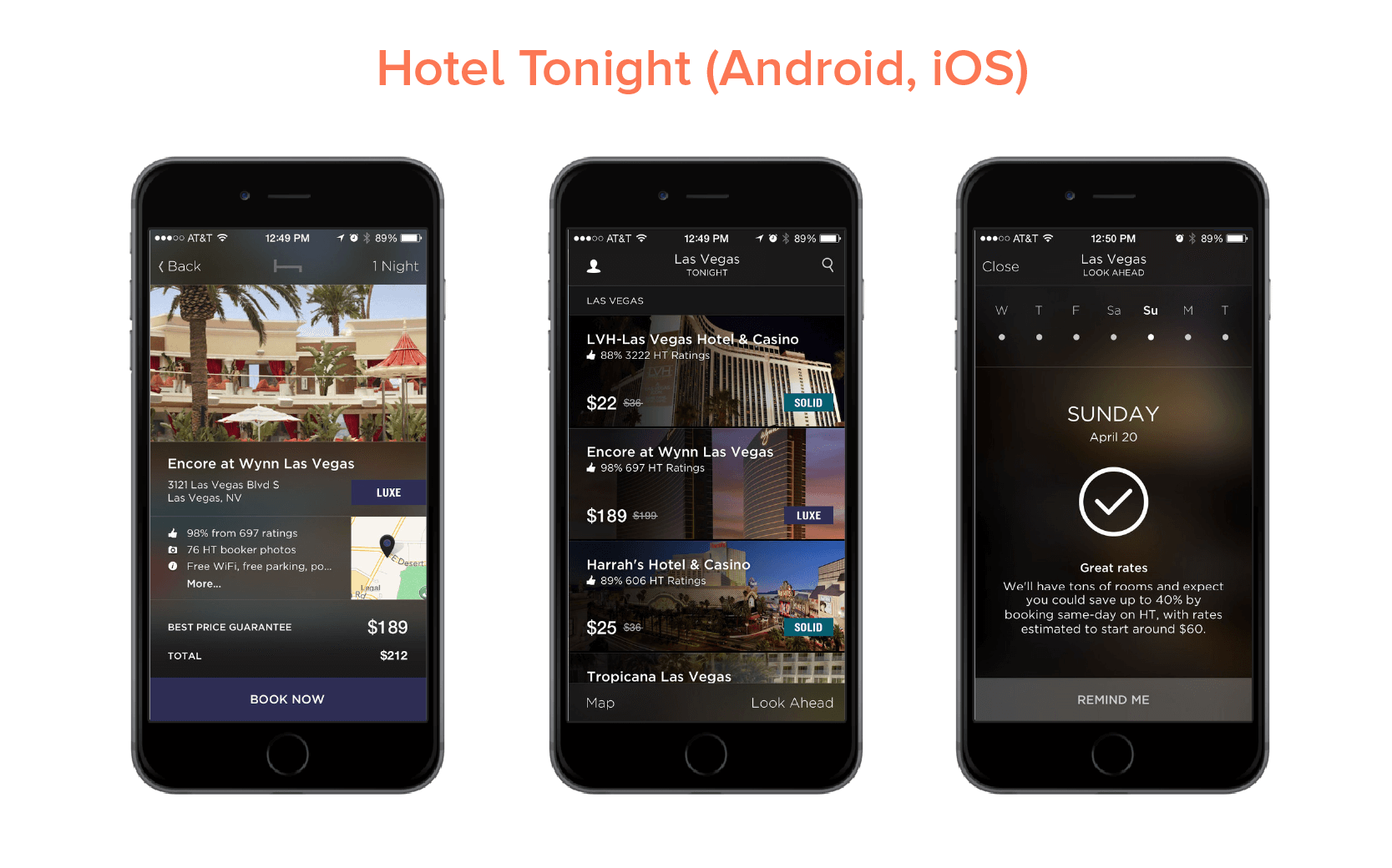 Hotel Tonight (Android, iOS)