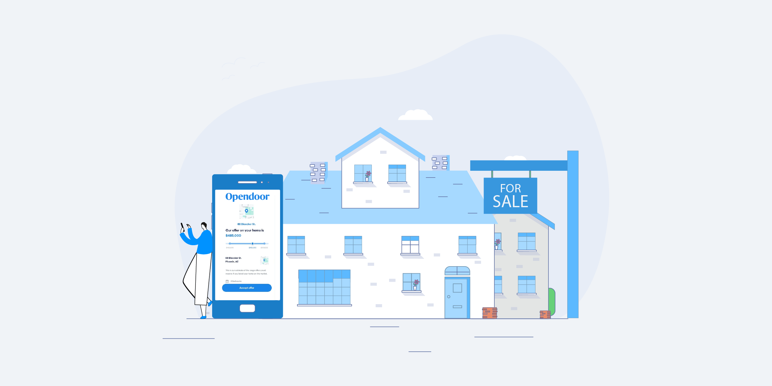 Opendoor App to Make Real-Estate Buying and Selling On-Demand