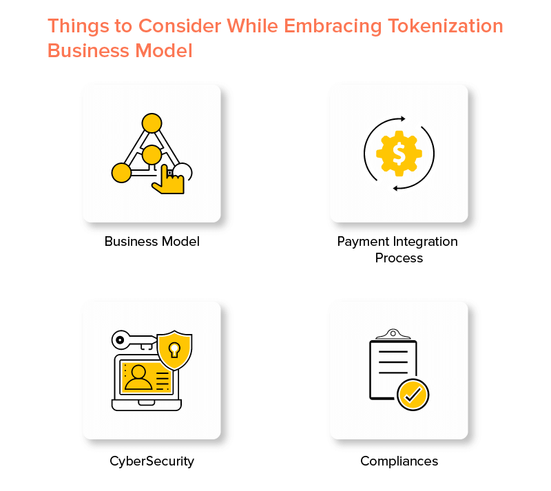 Things to Consider While Embracing Tokenization Business Model