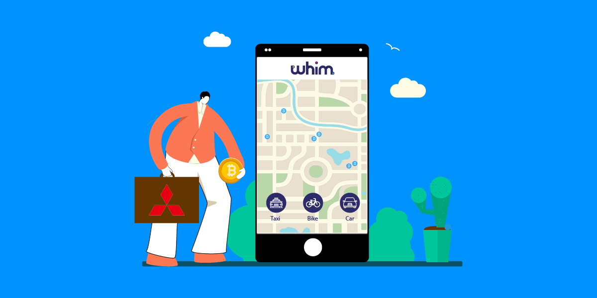 Mitsubishi invests in MaaS Global's Whim app