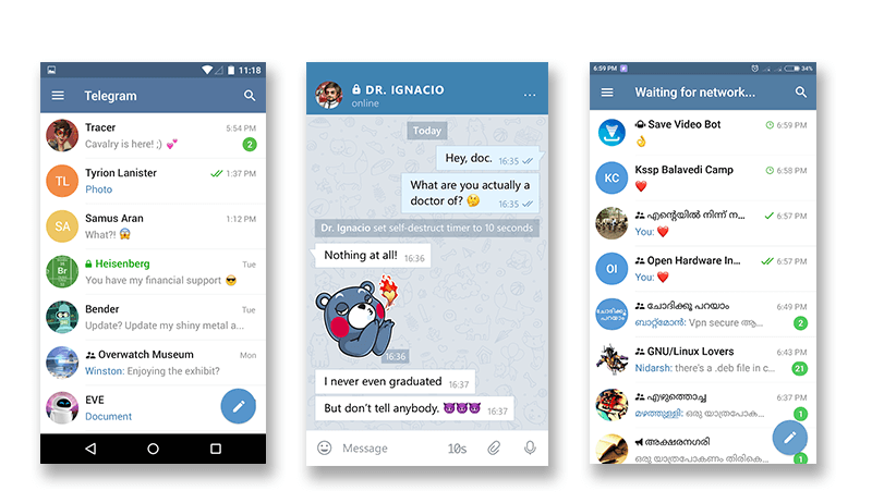 Telegram App User Experience Module