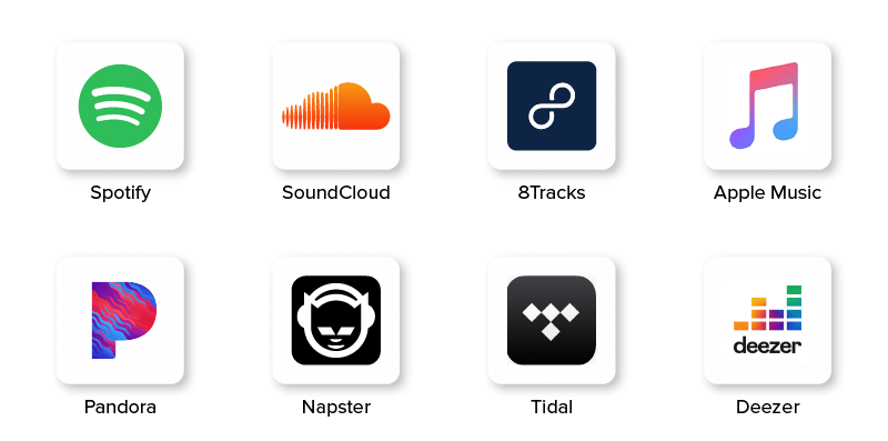 Music Streaming Apps : Top Players