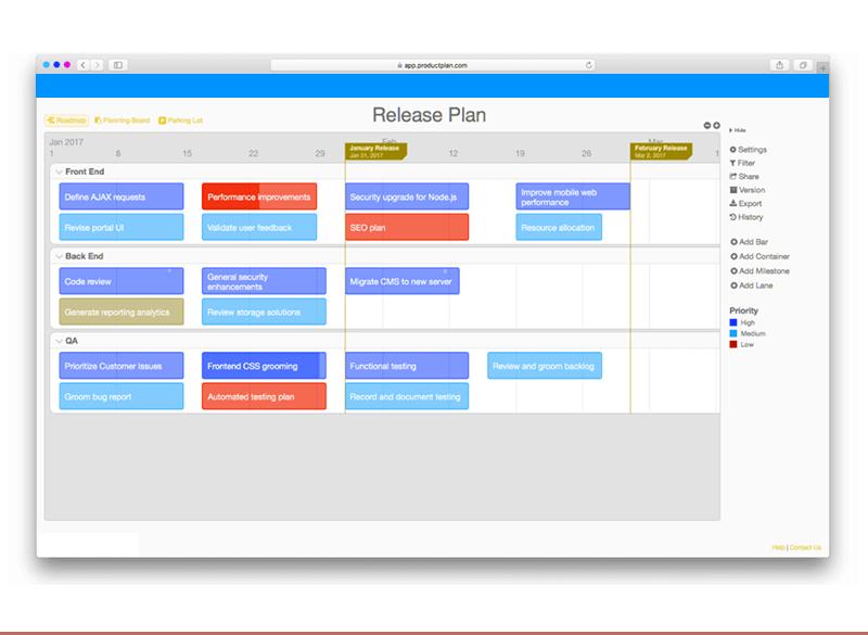 Release Plan Document