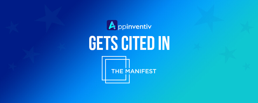 amlirAppinventiv Gets Cited in The Manifest Survey